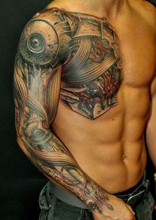 tatuagem 3d homem 2