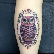 tattoo coruja 13