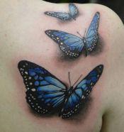 tattoo borboleta 3d 4