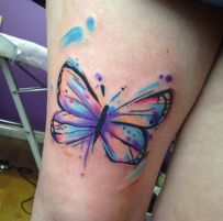 tattoo borboleta aquarela 2