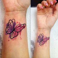 tattoo borboleta aquarela 4