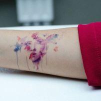tattoo borboleta aquarela 5